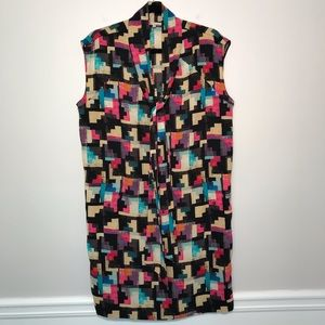 Rachel Rachel Roy Sleeveless Colorful Shift Dress